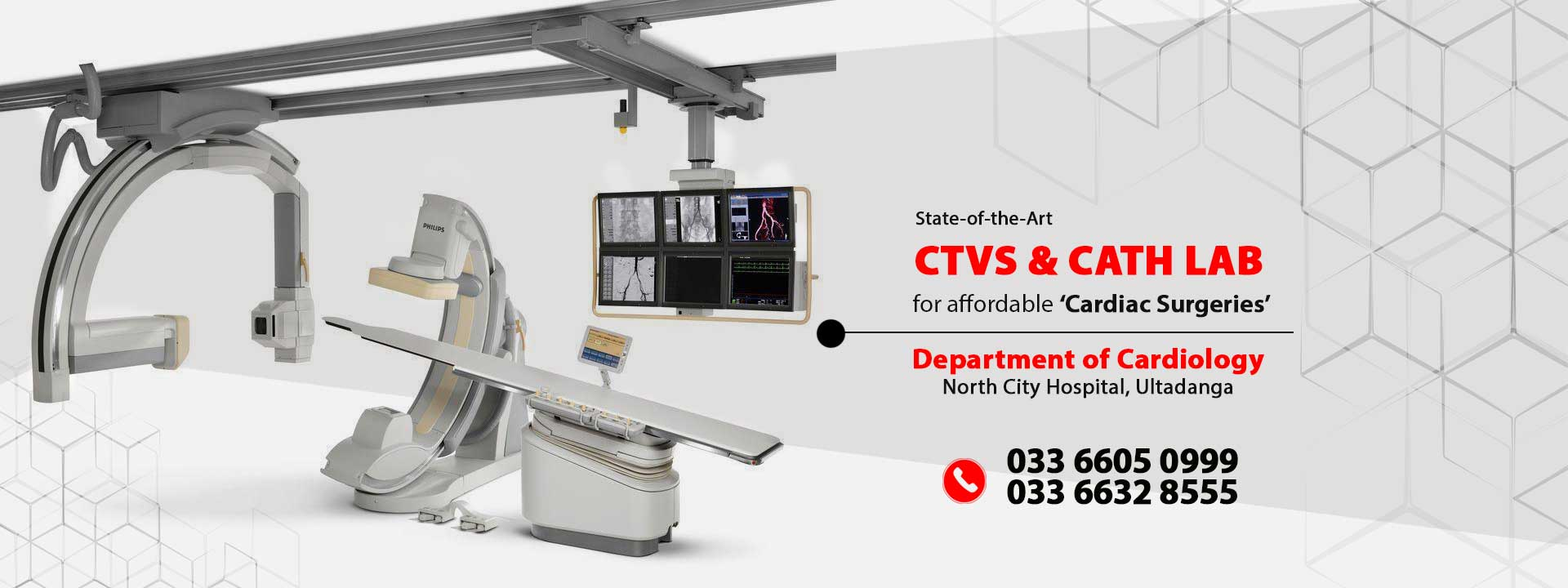 Cath Lab CTVS at North City Hospital
