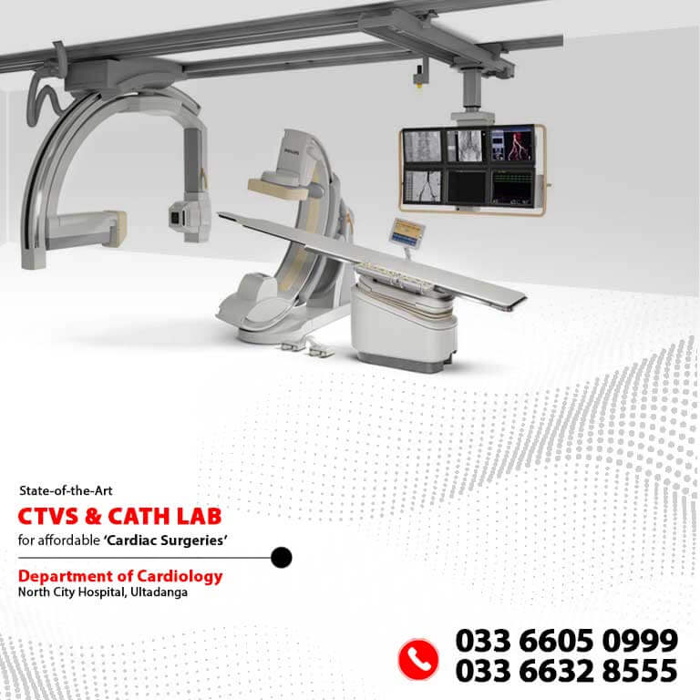 Cath Lab CTVS at North City Hospital Mobile