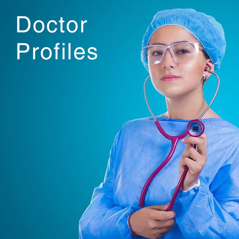 Doctor profiles mobile at North City Hospital