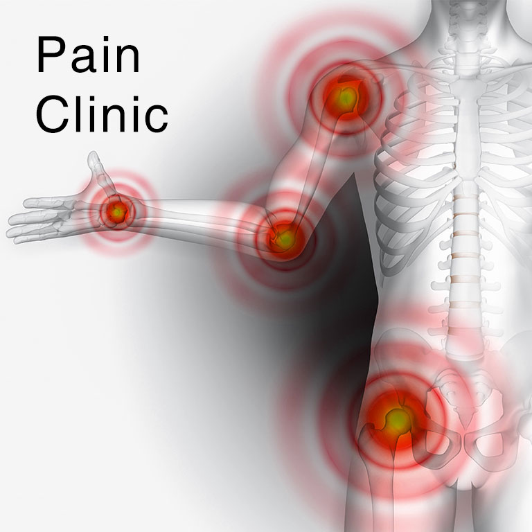 Pain Clinic - mobile header - at North City hospital