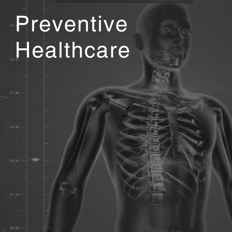 Preventive Healthcare Mobile header North City Hospital